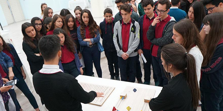 Gezici Tales Matematik Müzesi Erdem'de