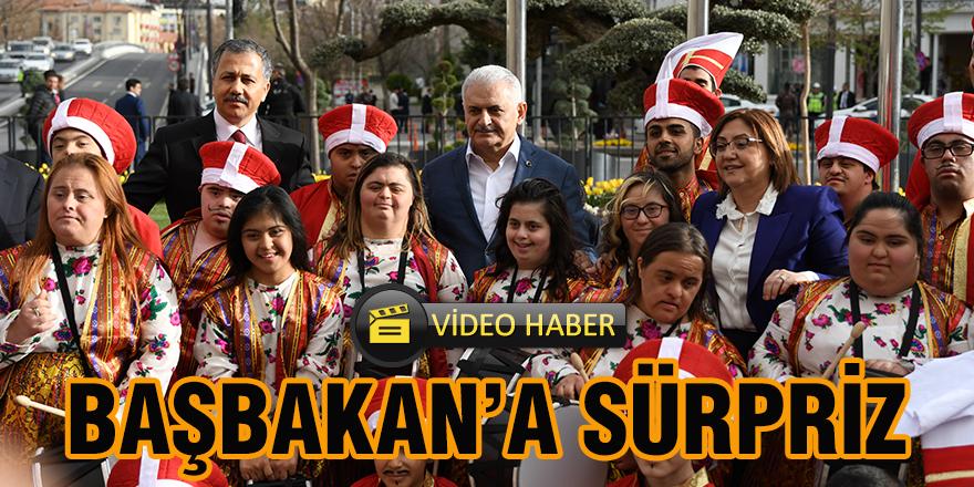 BAŞBAKAN'A SÜRPRİZ