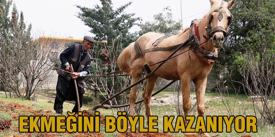 EKMEĞİNİ BÖYLE KAZANIYOR
