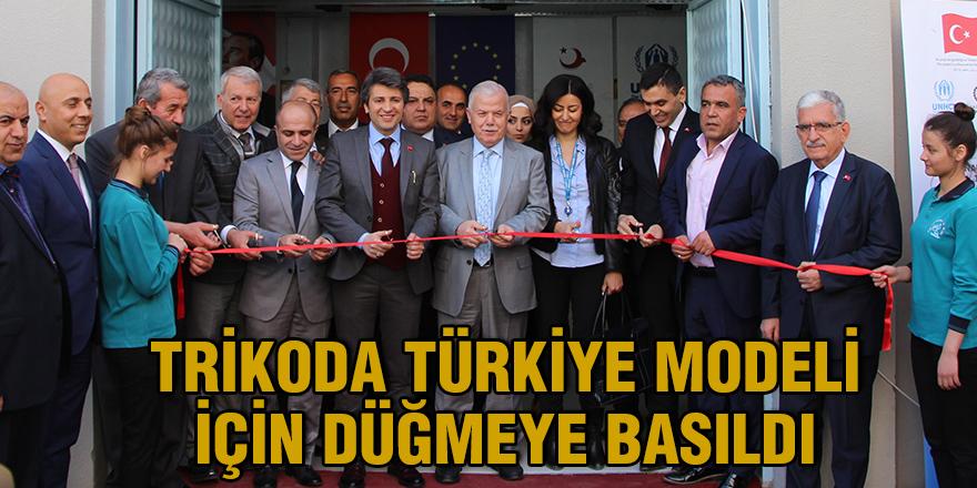 Trikoda Türkiye modeli için düğmeye basıldı