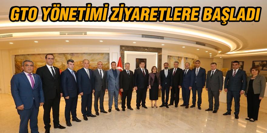 GTO YÖNETİMİ ZİYARETLERE BAŞLADI