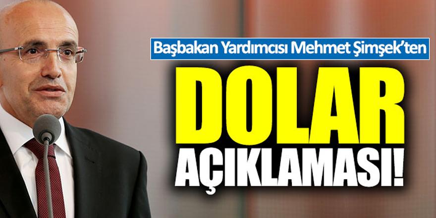 Mehmet Şimşek'ten kur yorumu