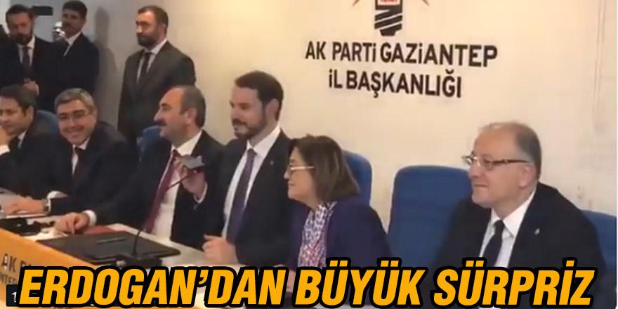 Erdogan'dan büyük sürpriz