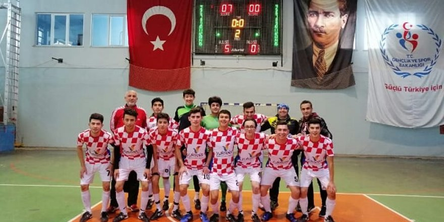 Futsalda şampiyon Akkent Anadolu