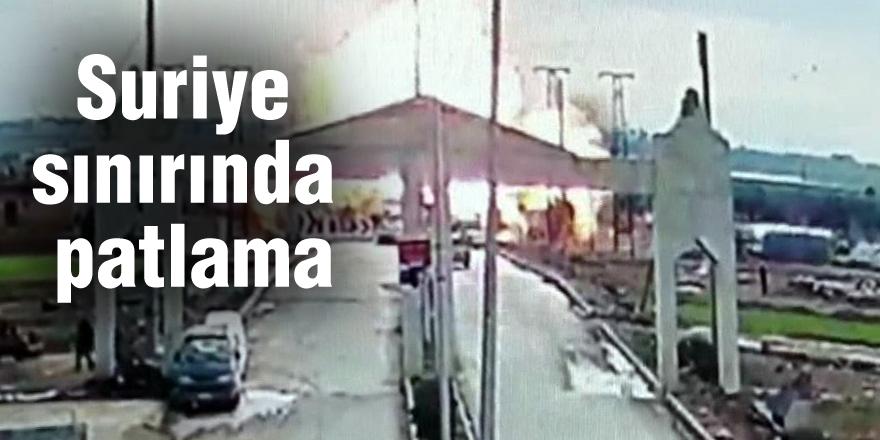 Suriye sınırında patlama