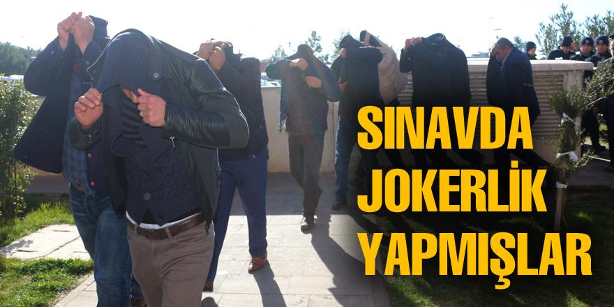 'Jokerler' adliyeye sevk edildi