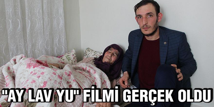 """""""Ay Lav Yu"""" filmi gerçek oldu"""