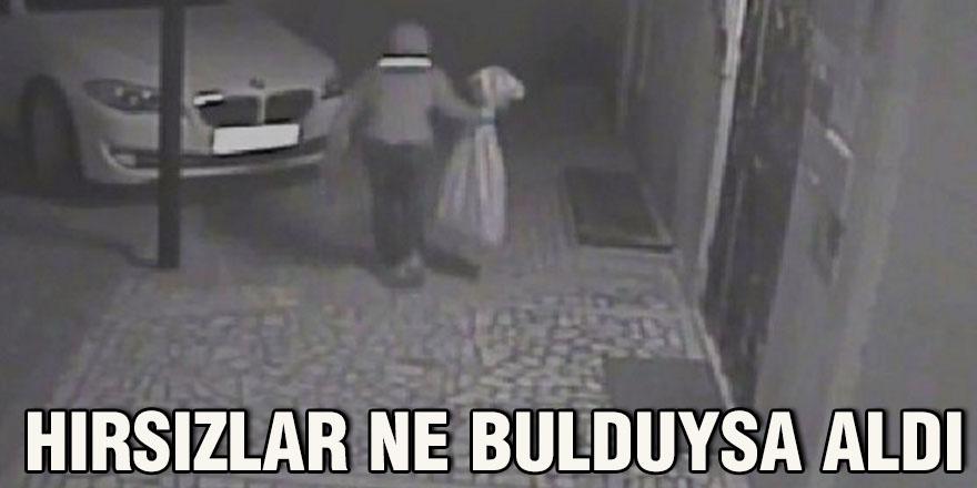 Hırsızlar ne bulduysa aldı