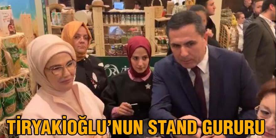 Tiryakioğlu'nun stand gururu