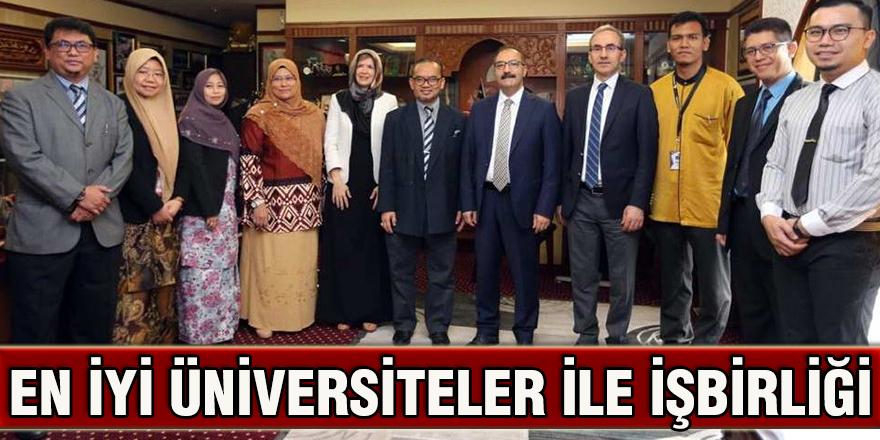 En iyi üniversiteler ile işbirliği