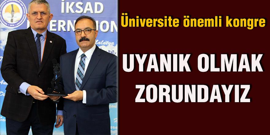 Üniversite önemli kongre