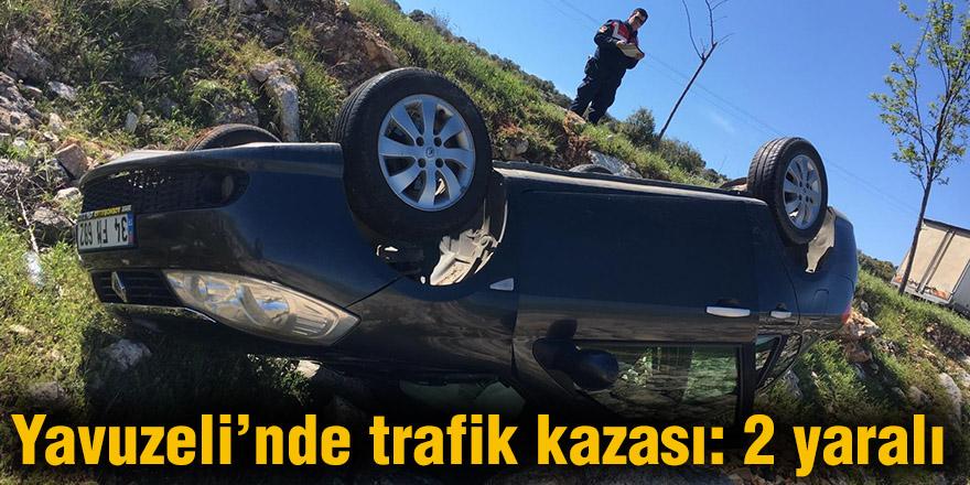 Yavuzeli'nde trafik kazası: 2 yaralı