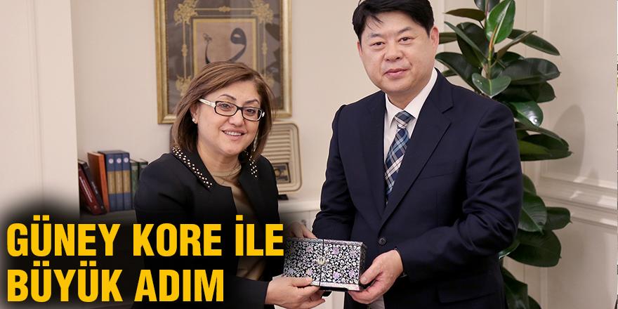 Güney Kore ile büyük adım