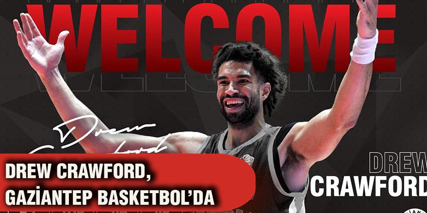 Drew Crawford, Gaziantep Basketbol'da