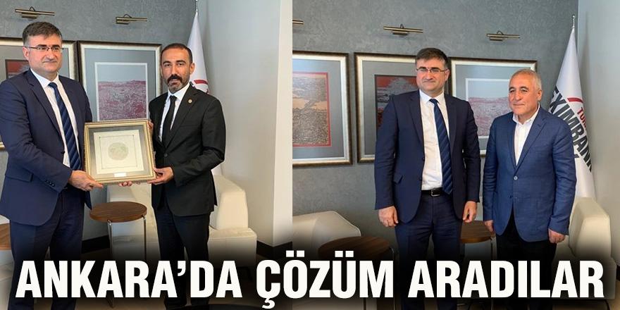 Ankara'da çözüm aradılar