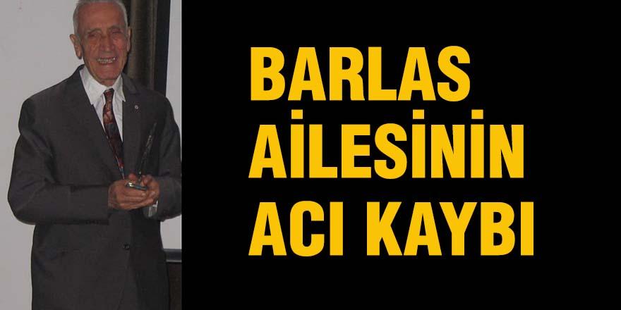 Barlas ailesinin acı kaybı