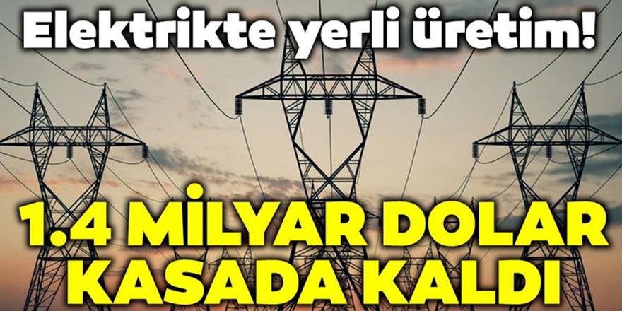 Elektrikte yerli üretim