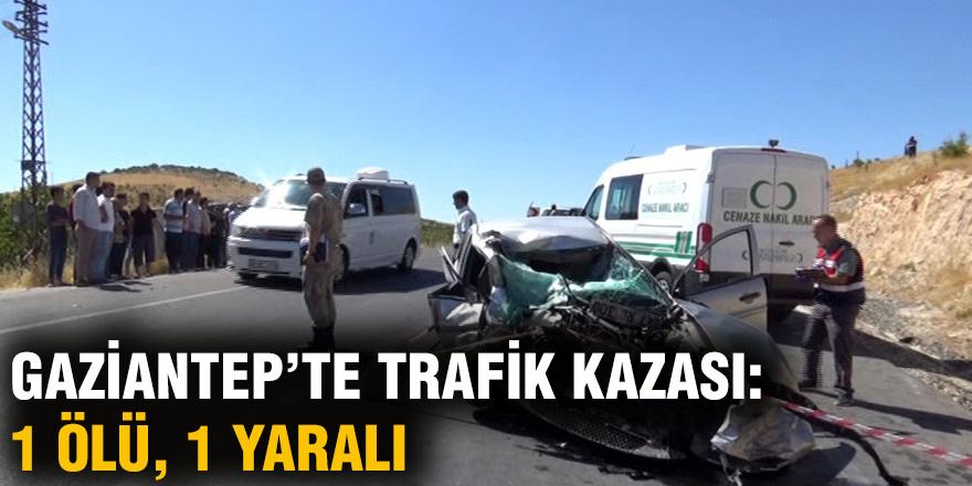 GAZİANTEP'TE TRAFİK KAZASI