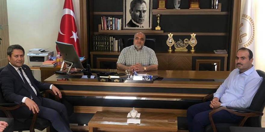 Milletvekili Şahin'den Nizip Müftüsü Çiftçi'ye ziyaret