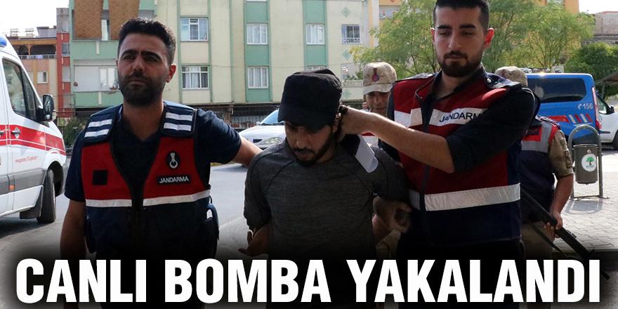 CANLI BOMBA YAKALANDI