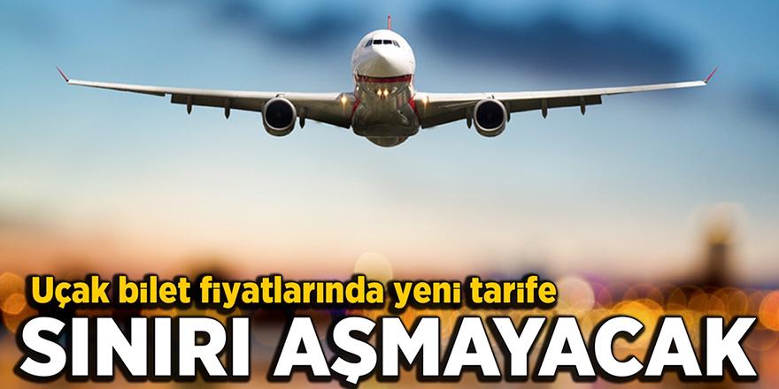Uçak biletlerinde yeni düzenleme