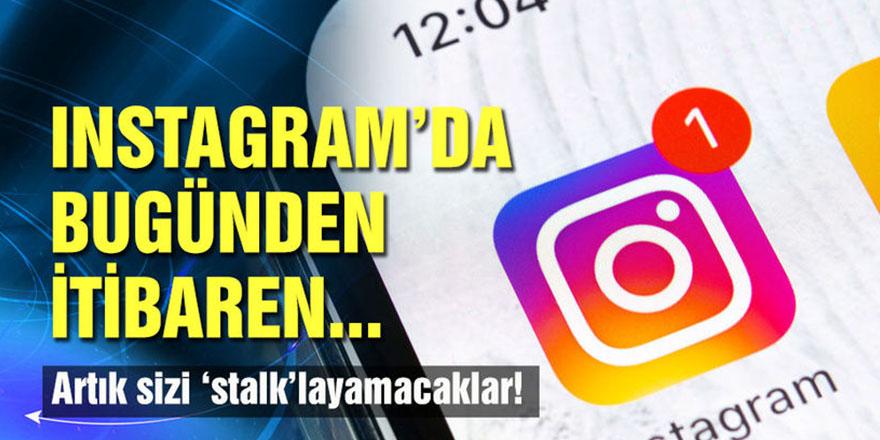 Instagram 'takip' sekmesini kaldırıyor