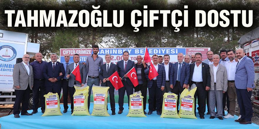 ŞAHİNBEY'DEN ÇİFTÇİYE BÜYÜK DESTEK