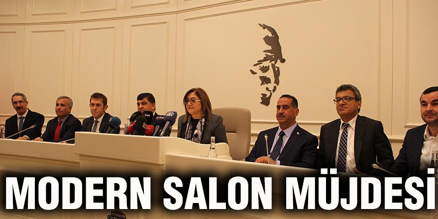 Modern salon müjdesi