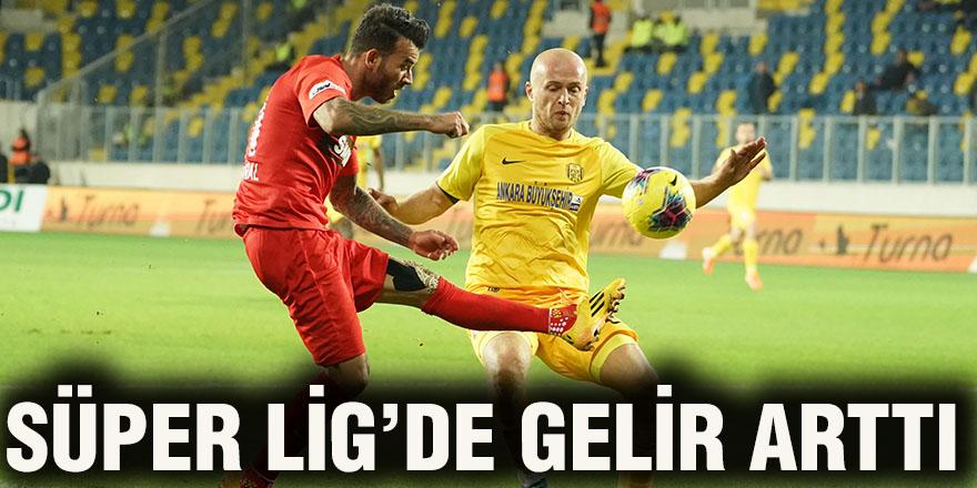 Süper Lig'de gelir arttı