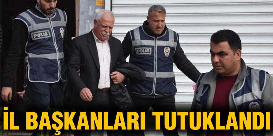 İl Başkanları tutuklandı
