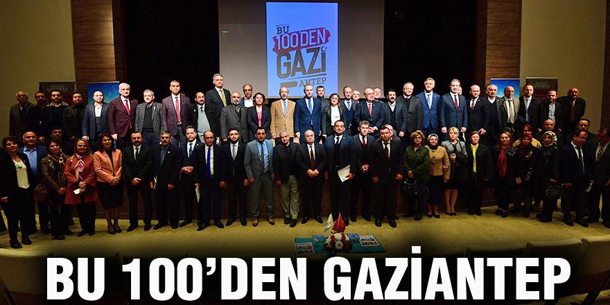 Bu 100'den Gaziantep