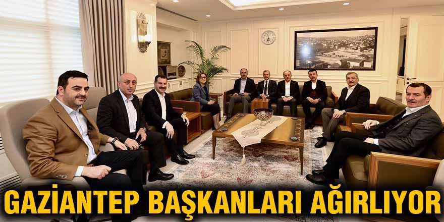 Gaziantep Başkanları ağırlıyor