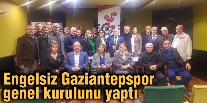 Engelsiz Gaziantepspor genel kurulunu yaptı