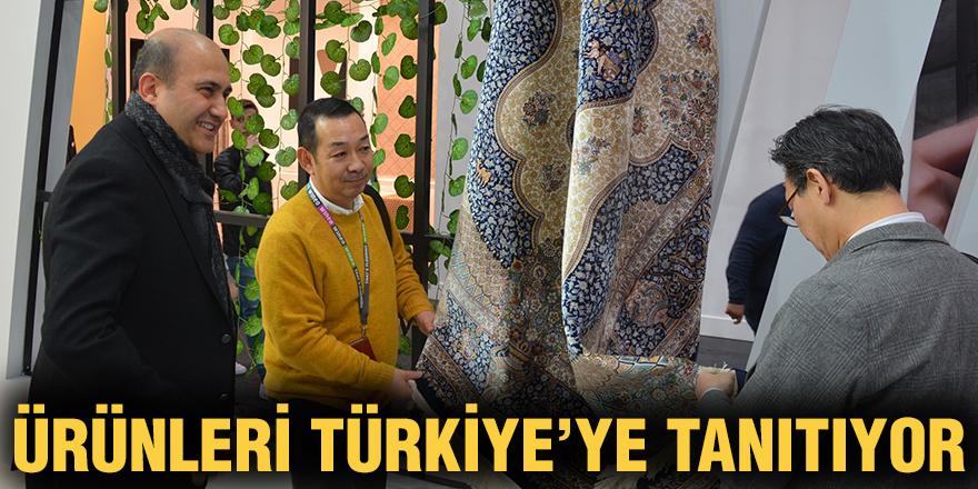 Ürünleri Türkiye'ye tanıtıyor