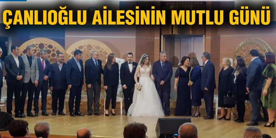 Çanlıoğlu ailesinin mutlu günü