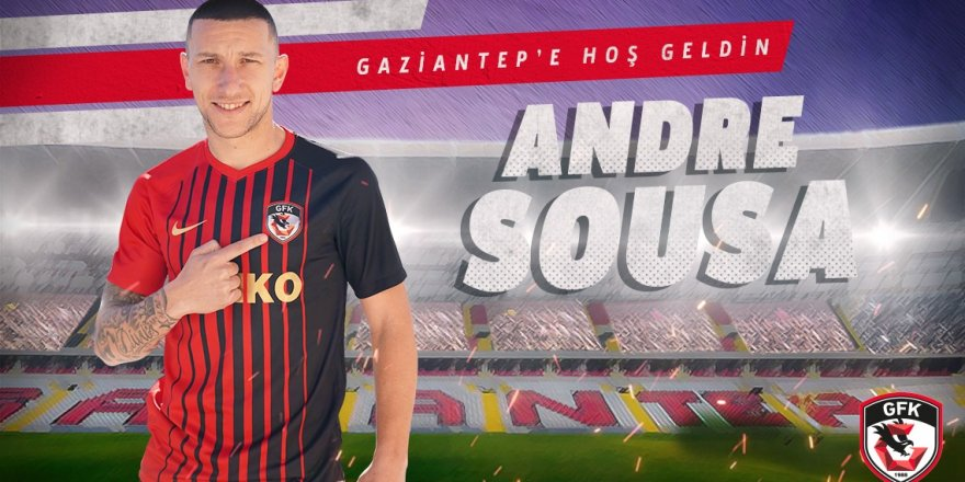 Andre Sousa Gaziantep'te