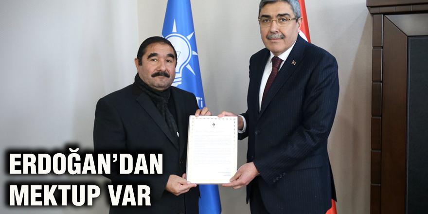 Erdoğan'dan mektup var