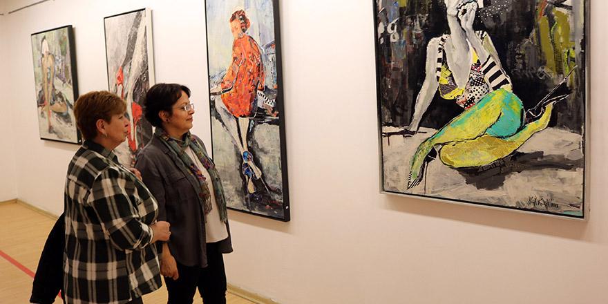 SANKO Sanat Galerisi'ndeki sergi