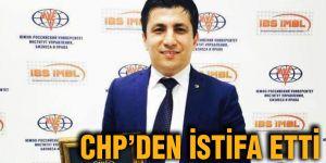 CHP'den istifa etti