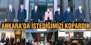 Ankara'da istediğimizi kopardık