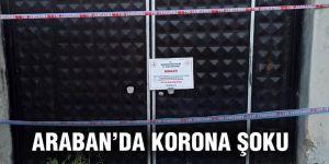 Araban'da 572 kişiye korona virüs karantinası