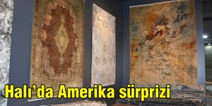 Halı'da Amerika sürprizi