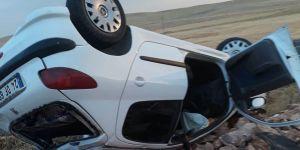 Otomobil devrildi: 6 yaralı
