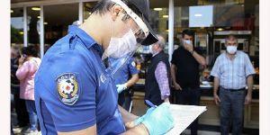 2 bin 768 kişiye maske takmama ve sosyal mesafe cezası