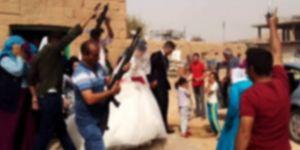 Düğünde havaya ateş açan muhtar açığa alındı