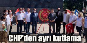 CHP'den ayrı kutlama