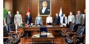Başkan Akgün,Şahin'i ağırladı