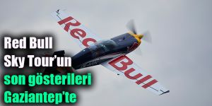 Red Bull Sky Tour'un son gösterileri Gaziantep'te