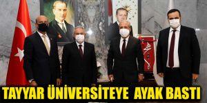Tayyar Üniversiteye  ayak bastı