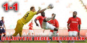 GALİBİYETE BEDEL BERABERLİK